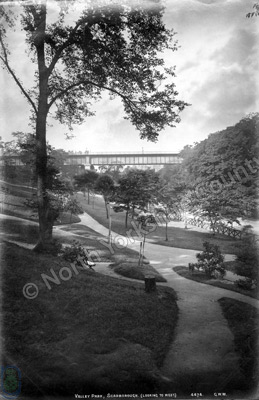 The Valley and Valley Bridge, Scarborough